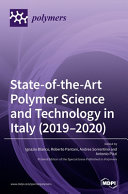 State of the Art Polymer Science and Technology in Italy  2019 2020  Book