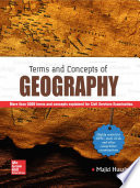 TERMS AND CONCEPTS OF GEOGRAPHY Book