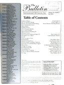 The Bulletin Of The I O L I  Book PDF