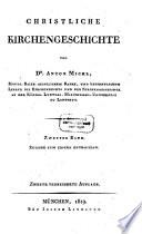 Christliche Kirchengeschichte  , Volume 2