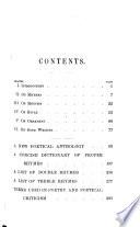 A Handbook of Poetry