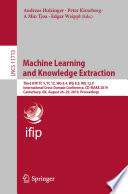 Machine Learning and Knowledge Extraction Book