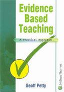 Evidence Based Teaching Book