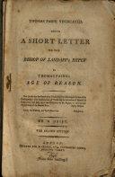 Thomas Paine Vindicated