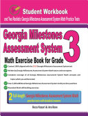 Georgia Milestones Assessment System Math Exercise Book for Grade 3