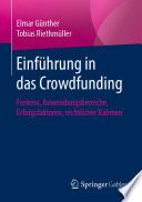 Einführung in das Crowdfunding