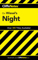 Cliffsnotes On Wiesel S Night Book