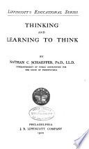 Thinking and Learning to Think  by Nathan C  Schaeffer