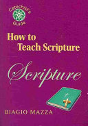 How to Teach Scripture