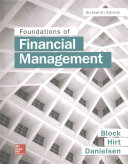 Foundations of Financial Management Book