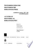 Österreichische historische Bibliographie