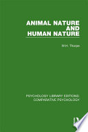 Animal Nature and Human Nature