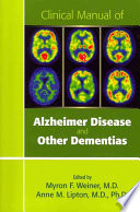 Clinical Manual Of Alzheimer Disease And Other Dementias Book PDF