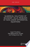 Numerical Solutions of Boundary Value Problems of Non-linear Differential Equations