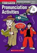 Timesaver Pronunciation Activities