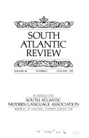 South Atlantic Review: The Publication of the South Atlantic ...