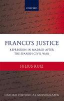 Pdf Franco's Justice