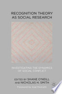 Recognition Theory as Social Research