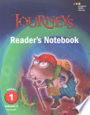Journeys Reader's Notebook, Grade 1