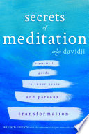 """Secrets of Meditation"" by Davidji"