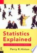 Statistics Explained