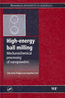 High Energy Ball Milling Book PDF