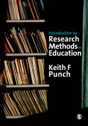 Cover of Introduction to Research Methods in Education