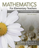 Cover of Mathematics for Elementary Teachers