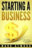 Starting A Business Pdf/ePub eBook