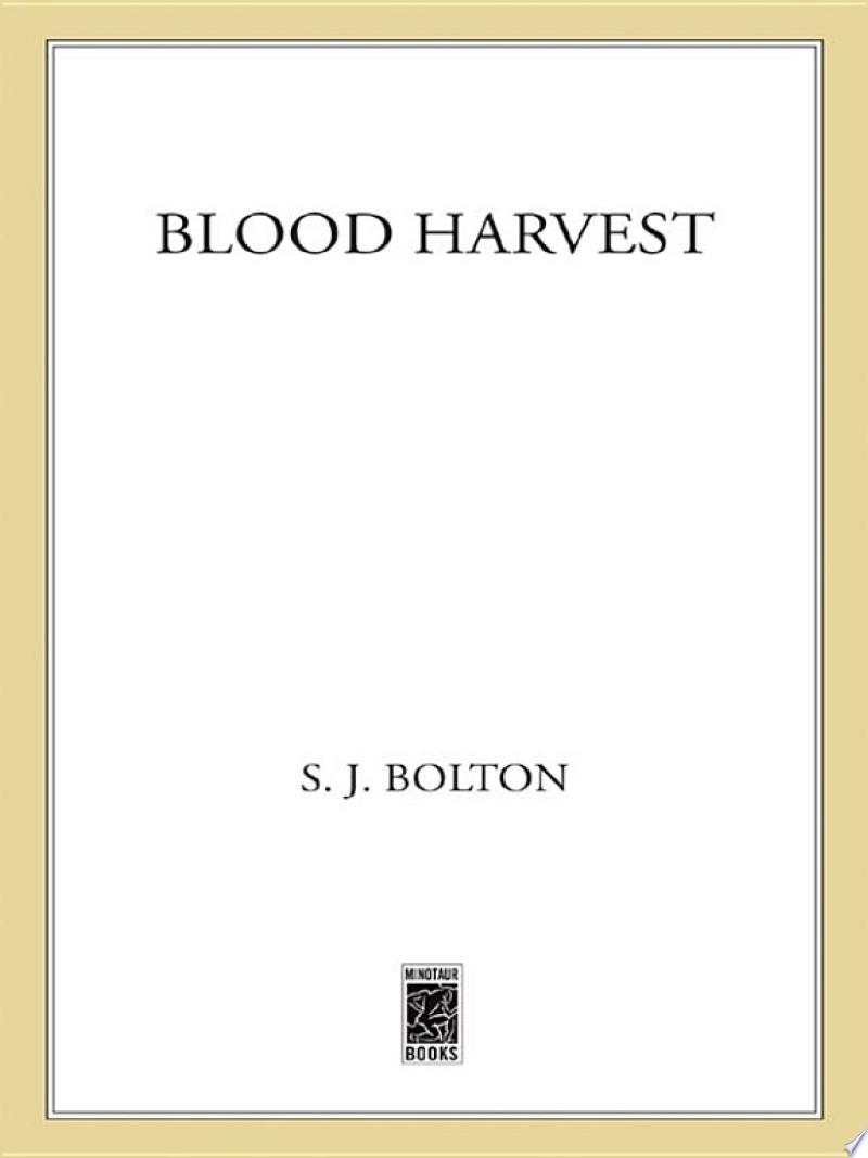 Blood Harvest banner backdrop
