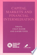 Capital Markets and Financial Intermediation Book