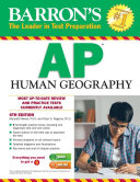 Barron s AP Human Geography  6th edition