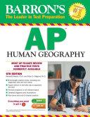 Barron s AP Human Geography  6th edition Book PDF