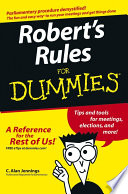Robert S Rules For Dummies PDF