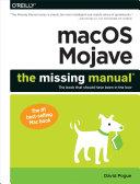 macOS Mojave: The Missing Manual [Pdf/ePub] eBook