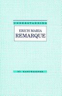 Understanding Erich Maria Remarque ebook