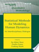 Statistical Methods For Modeling Human Dynamics Book PDF