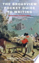 The Broadview Pocket Guide To Writing Revised Fourth Canadian Edition