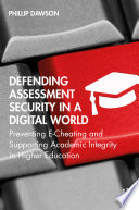 Defending Assessment Security in a Digital World Book