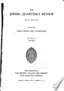 The Jewish Quarterly Review  , Volume 4