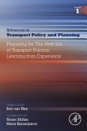 Preparing for the New Era of Transport Policies: Learning from Experience Pdf/ePub eBook