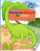 Dinosaurier-Malbuch für Kinder