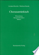 Chorasantürkisch