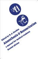 Anaesthesia and Resuscitation