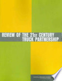 Review of the 21st Century Truck Partnership Book