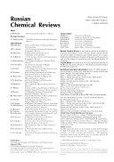 Russian Chemical Reviews Book PDF