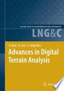 Book Cover: Advances in Digital Terrain Analysis