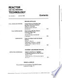 Reactor and Fuel processing Technology