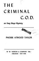 The Criminal C O D  Book PDF