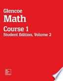 Glencoe Math, Course 1, Student Edition